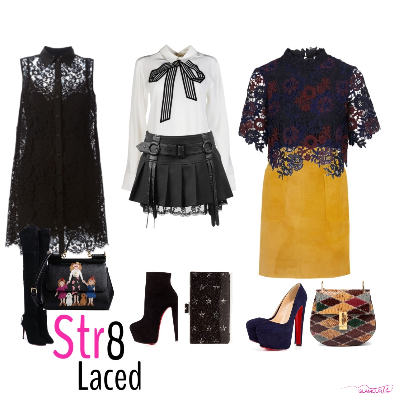 BlackGlamourMom Trend Alert: Str8 Laced