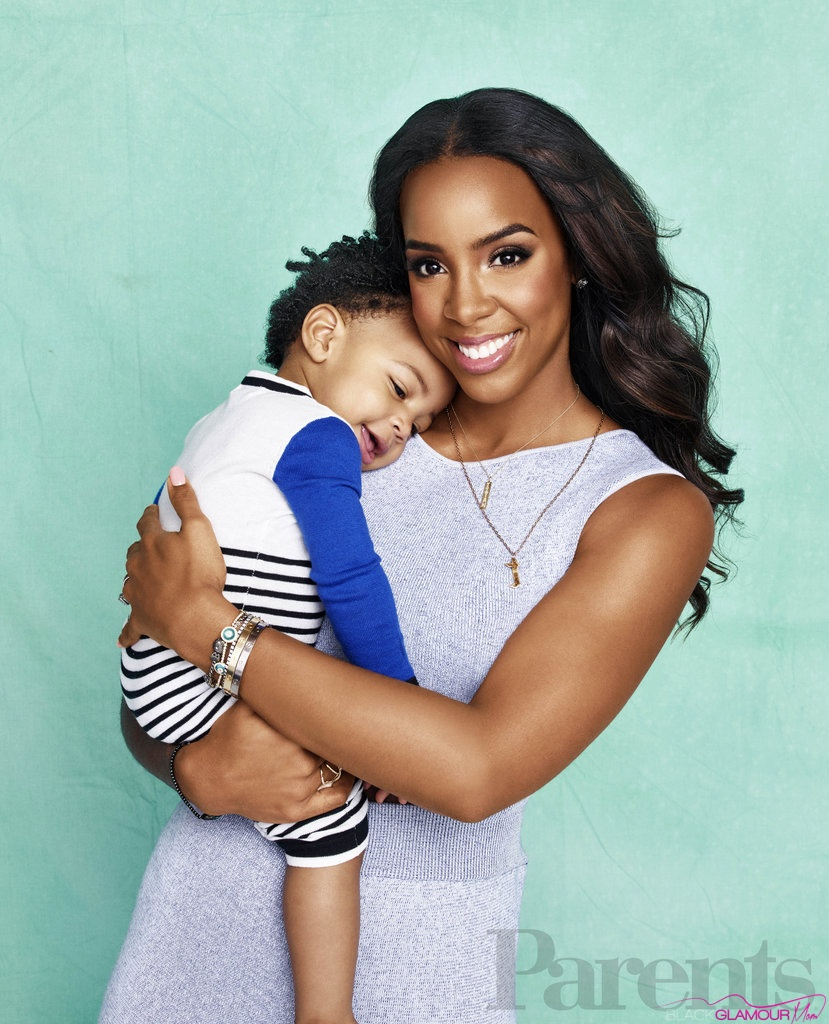 Celeb BGM Kelly Rowland Showers Us with Cuteness with Son Titan on Cover of Parents Magazine
