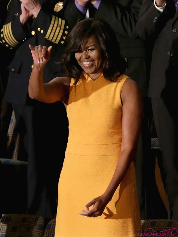 Michelle Obama Narciso Rodriguez Dress