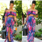 BlackGlamourMom Fashion Crush: Tie-Dye Mommy