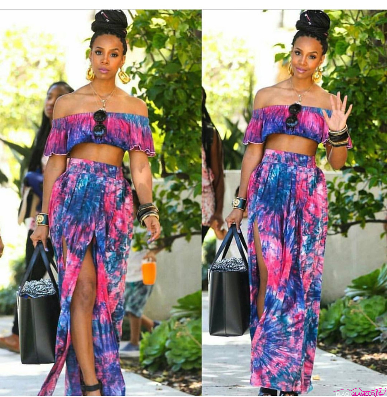 BlackGlamourMom Fashion Crush: Tie-Dye Mommy
