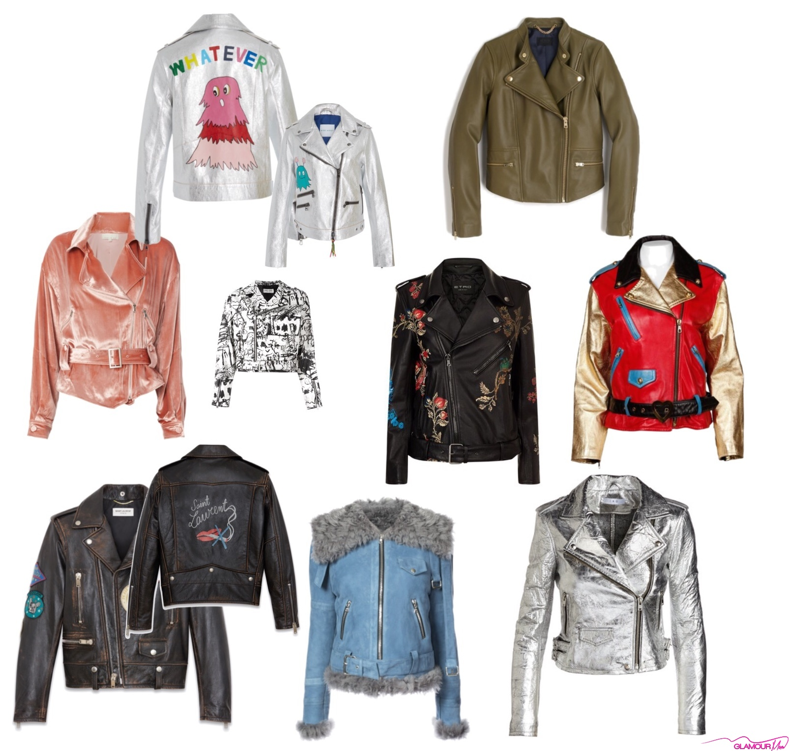 BlackGlamourMom Fashion Crush: The Moto Jacket
